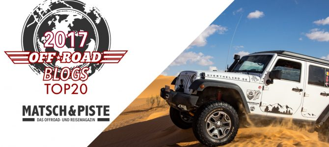 Top 20 Offroad-Blogs!