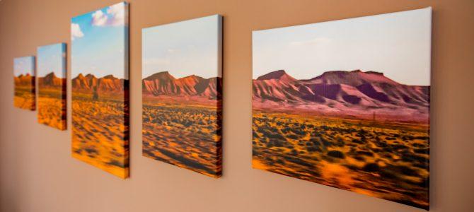 Leinwand-Triptychon – selbst gemacht!