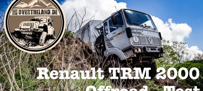 TRM 2000 – Offroad-Test!
