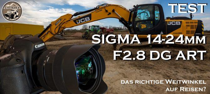 Sigma 14-24mm F2.8 DG ART – Ein Test für Reisende?