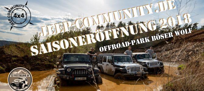 Jeep-Community.de – Saisoneröffnung 2018 im Bösen Wolf