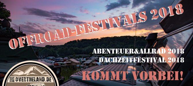 Der Sommer naht! Festivalzeit!