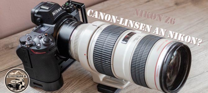 Nikon mit Canons L-Linsen?